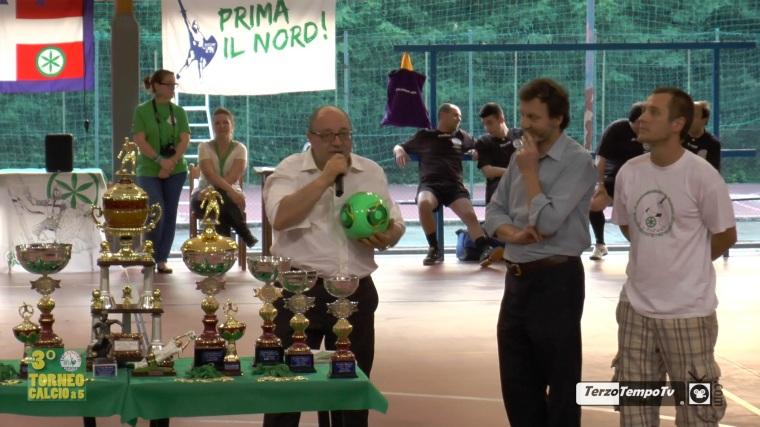 3° Torneo Lega Nord Biellese - Calcio d'inizio