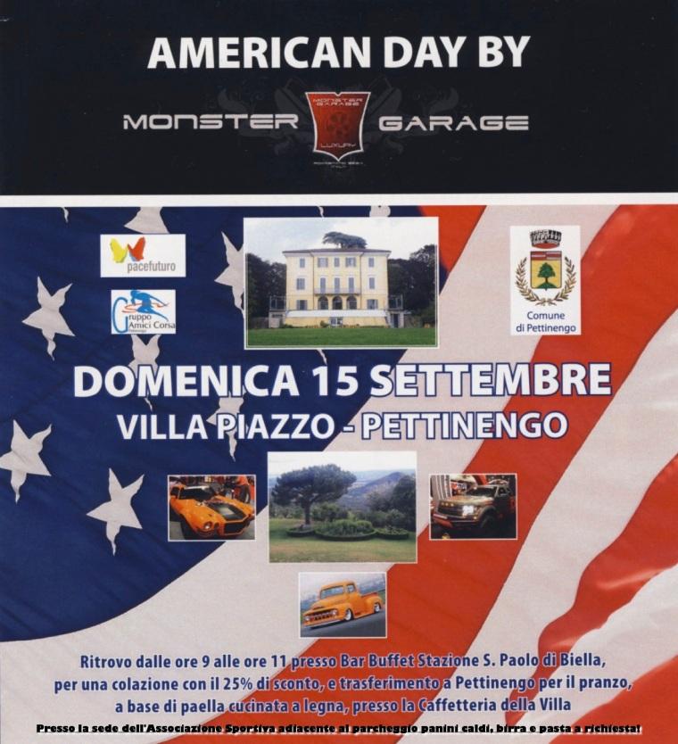 Volantino American day Pettinengo