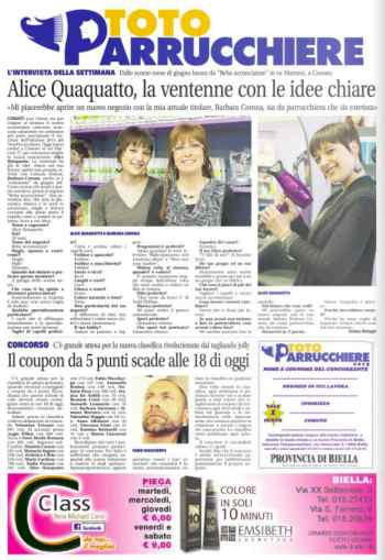 totoparrucchieri-2015-la-nuova-provincia-di-biella-andrea-battagin-alice-quaquatto-beba-acconciature-cossato-terzotempotv